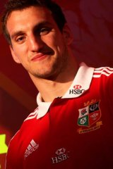 Lions captain: Sam Warburton.