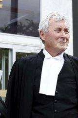 Office raided ... Canberra barrister Bernard Collaery.