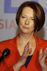 Gendered attacks ... Julia Gillard.
