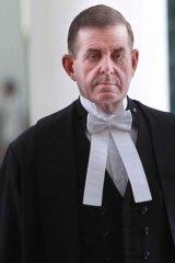 In full regalia ... Peter Slipper as Speaker of the House.