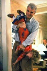 Upside down world: Steve Martin has it sussed in Parenthood.