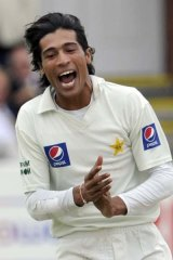 Betting sting ... Mohammad Aamer is  accused of  working with an alleged gambling middleman exposed by the News of the World.