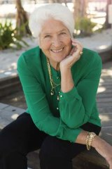 Happy habit: Dawn Fraser says the word ''enjoy'' can empower people.
