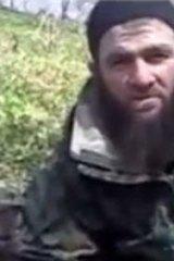 Purported image of Chechen militant leader Doku Umarov.