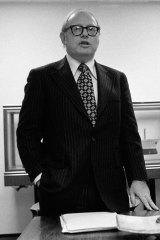 Jacob E. Goldman in 1975.