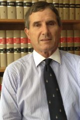 'I just saw more and more of what I thought was an unjust system': former Family Court judge Ian Coleman.
