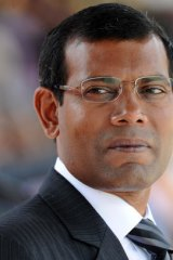 Mohamed Nasheed: 'For us, it is difficult not to be worried about the climate.'