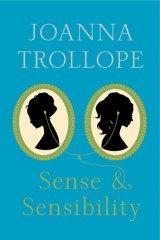 The cover of Joanna Trollope's <i>Sense & Sensibility</i>.