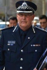 Stephen Fontana leaves the royal commission.