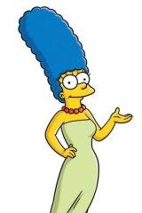 Kinda blue ... Marge Simpson.