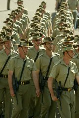 Target … Defence white paper seeks to rationalise assets and move reservists.