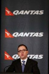 "Qantas chief executive Alan Joyce described the restructure as ""unprecedented in scope and depth""."