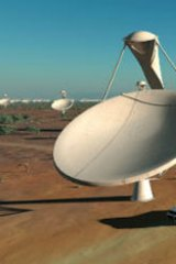 The SKA telescope could be built in Australia.