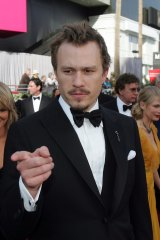 Arriving at the 78th Academy Awards in 2006.
