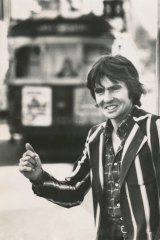 Monkees singer Davy Jones in Melbourne in 1980.