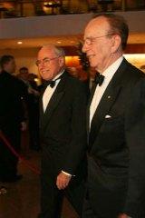 Rupert Murdoch and then Prime Minister John Howard in 2006.