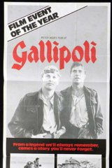 A poster for Peter Weir's <i>Gallipoli</i>.