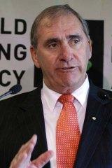 WADA chief John Fahey.