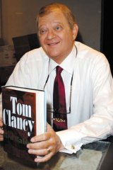 Tom Clancy: got the props he deserved.