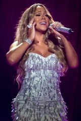 Diva in control: Mariah Carey in Sydney during her 2013 tour.