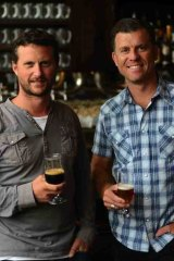 Steve Jeffares and Guy Greenstone have a passion for boutique beers.