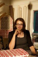 Susan Fitzgerald in her Footscray studio.