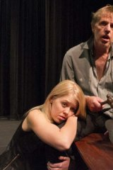 Laura Dawson (as Lucie Manette and Don Smith as Dr Manette in <i>A Tale of Two Cities</i>.