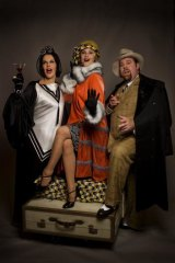And with Rhonda Burchmore and Shane Jacobson in <i>The Drowsy Chaperone</i>.