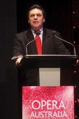 Opera Australia's artistic director, Lyndon Terracini.