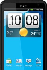Telstra's HTC 4G smartphone.