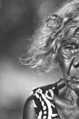 Senior Australian of the Year Laurie Baymarrwangga.