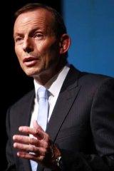 Tony Abbott: Accused of acting unlawfully.