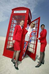 Qantas has accused Virgin of rolling out Richard Branson to help take the spotlight off bad news.