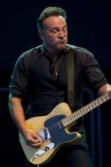 Bruce Springsteen at Hanging Rock.