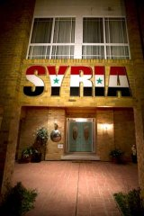 Two Syrian diplomats have been expelled from their embassy in Canberra.