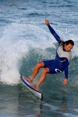 Seven-time surfing world champion Layne Beachley.
