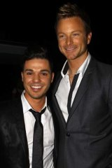 Long-term relationship ... Anthony Callea and Tim Campbell.