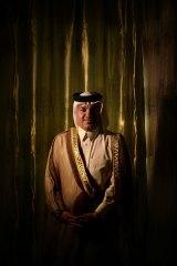 'Some say we're a nation': Sheikh Marwan Naji Jbarah al-Juburi.