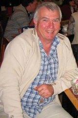 Ian Corbridge … before he lost the 22 kilograms.