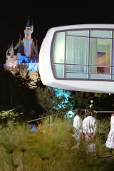 Disneyland's House of the Future (1959), part of Walt Disney's vision of Tomorrowland.