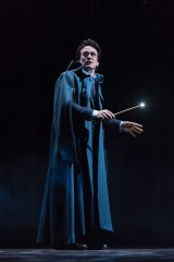 Jamie Parker as Harry Potter from the original company of Harry Potter and the Cursed Child performing in London.