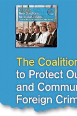 The policy document that has been removed from Coalition websites.