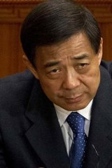 Career-threatening ... despite links to former Chongqing Party secretary Bo Xilai, moving up the ranks may still prove difficult for General Zhang Haiyang.