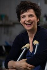 <i>Words and Pictures</i> star Juliette Binoche.