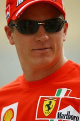 Return on the cards: Kimi Raikkonen heavily tipped to return to Ferrari, the team he drove for in 2007.