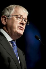 """""""Big future in Australia"""": Trade and Investment Minister Andrew Robb."""