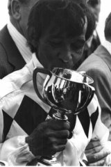 One of a kind: Frank Reys remains the only Indigenous jockey to win the Melbourne Cup.