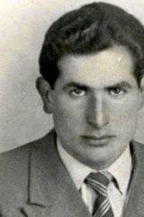 Berardino Forlano on the eve of his migration to Australia in 1956.