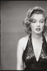 Marilyn Monroe as photographed by Avedon on May 6, 1957.