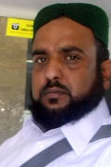 Scrutiny: Imam Muhammad Riaz Tasawara allegedly performed the marriage ceremony.